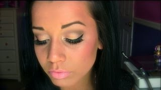 Gold Bronzed Eyes (Prom Look)