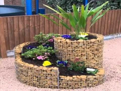 Como decorar jardines peque os youtube for Antejardines rusticos