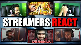 Streamers React (OWN VIDEOS) MRBRO & GEN LK