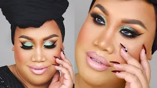 TEAL GLITTER SMOKEY EYE (requested by Jaclyn Hill!) | PatrickStarrr