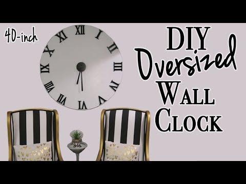 DIY Wall Clock ~ Relaxing DIY
