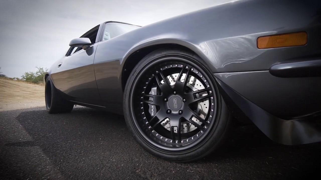 Stoptech Brake Kit >> Pro Touring 1970 Camaro SS - Baer Brakes - YouTube