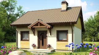 Cute Z60 Small and Very Functional One-storey House