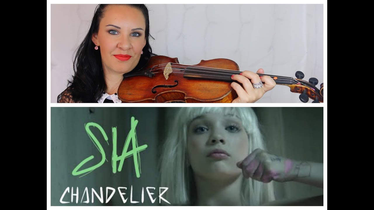 Chandelier by Sia | EASY Violin Tutorial - YouTube