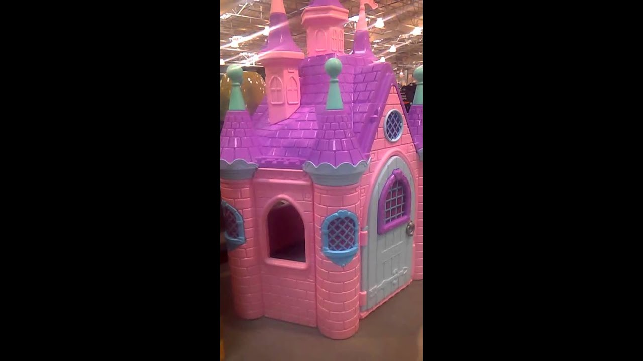 Pink Castle For Sale at Costco on East Henrietta Road in Rochester     Pink Castle For Sale at Costco on East Henrietta Road in Rochester  New  York  February 4th  2016