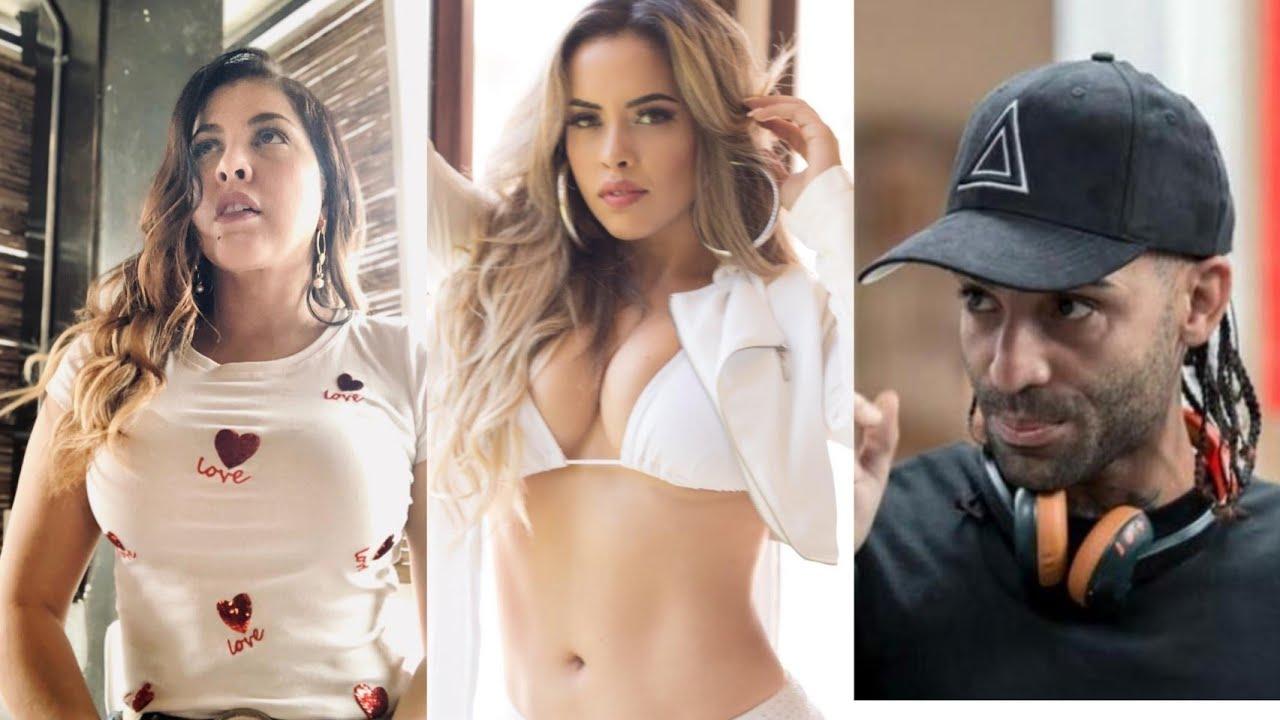 Lo que pasa Tamara Martínez, Ingrid Jorge, Arcángel, el Mayor, y Nelson de la Olla