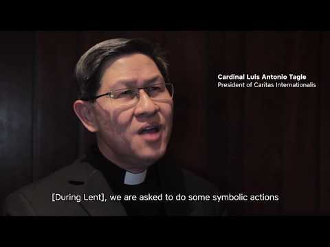 Cardinal Tagle thanks Development and Peace' donors