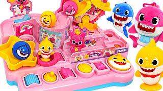 상어가족, 핑크퐁! 다 같이 아기상어 랜드에 놀러가자! | 핑키팝토이