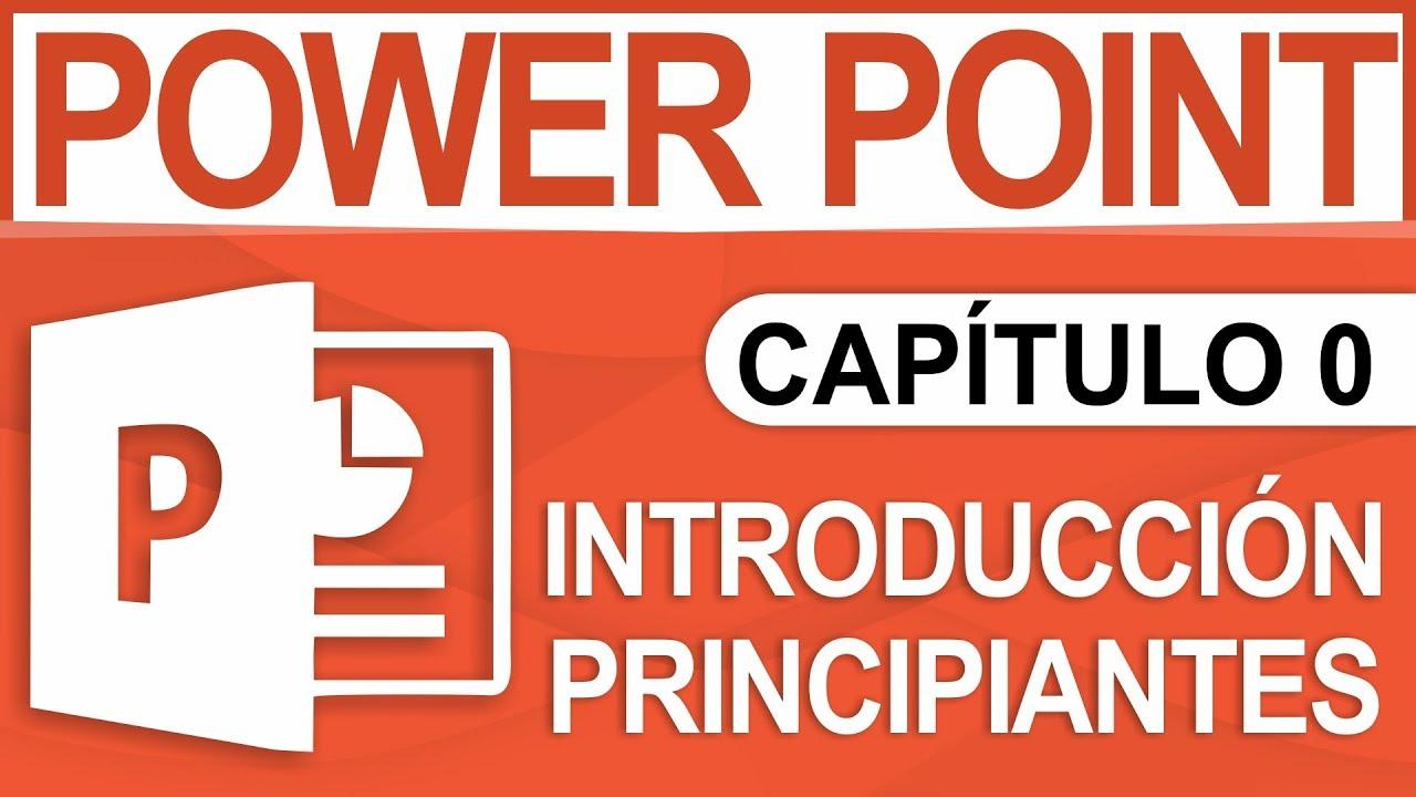 Download Capitulo 0 - Curso de PowerPoint, Introducción para Principiantes
