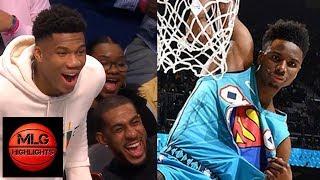 2019 NBA Slam Dunk Contest | Hamidou Diallo vs Dennis Smith Jr. Championship Round