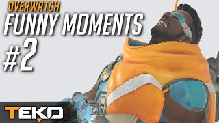 Moje Funny, Lucky i Fail Moments #2 [Overwatch]