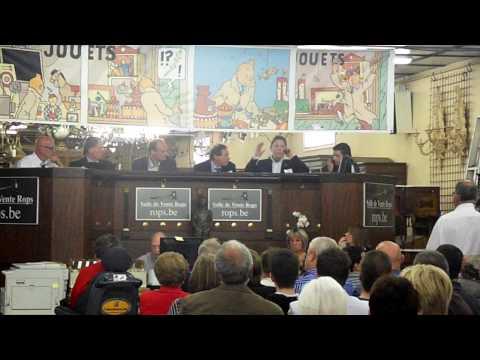 Vente Publique Hergé Tintin à La Salle De Ventes Rops à Namur (Belgique) 10 Mai 2009  Record