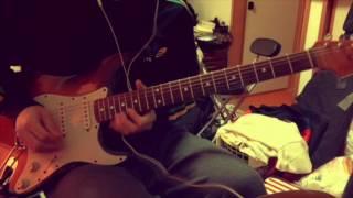 ライブバージョンのLife easyのソロを弾いてみましたがミュートきれいに...