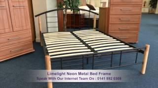 Limelight Neon Metal Bed Frame