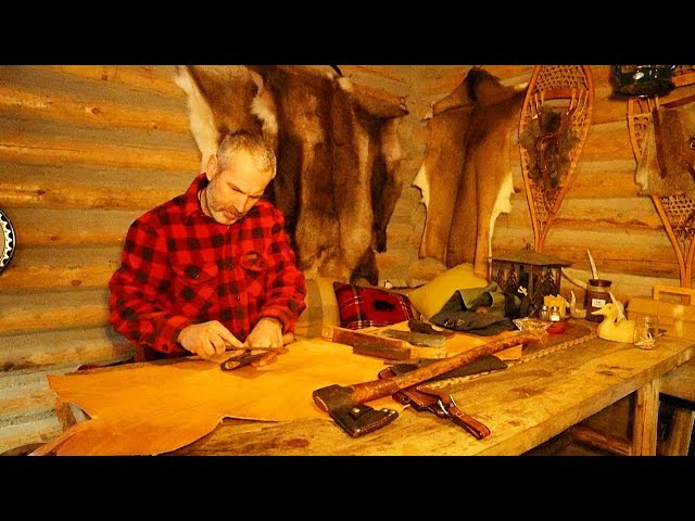 Off Grid Log Cabin Life in a Polar Vortex January 2019 | Winter, Snowstorm, Canada