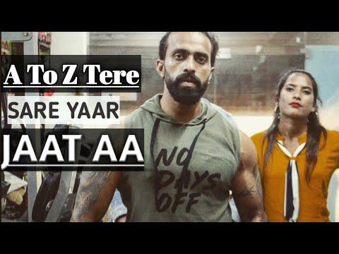A To Z Tere Sare Yaar Jatt Aa  8 Parche | Baani Sandhu | Gur Sidhu |  | New Punjabi Song 2019