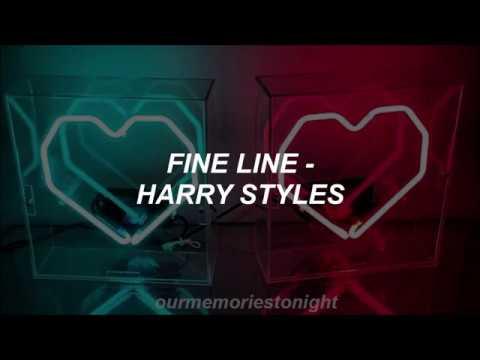 harry styles - fine line // lyrics