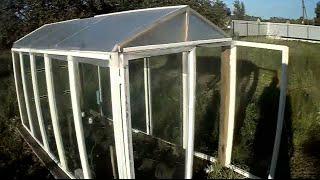 Как построить парник из оконных рам? How to build a hotbed of window frames(Кому не сложно, поставьте лайк пожалуйста! Моя партнерская программа VSP Group. Подключайся! https://youpartnerwsp.com/ru/jo..., 2015-07-08T04:19:37.000Z)