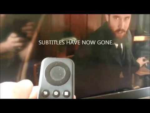 Switch Off Subtitles on Amazon Firestick Plex App
