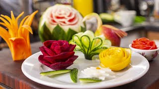 10 Способов Украсить Праздничный Стол. Как красиво нарезать овощи.