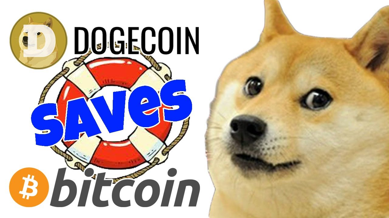 BITCOIN SAVED BY DOGECOIN BET!!