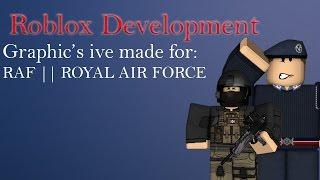 Roblox Development: RAF Graphics Work