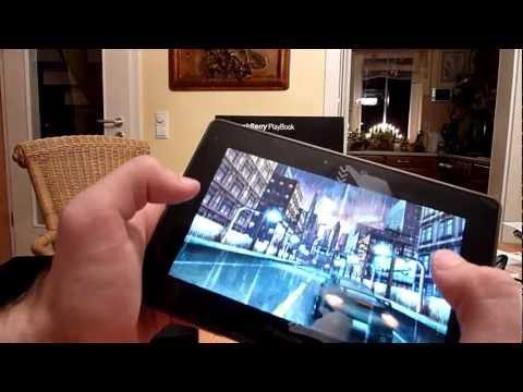 Blackberry Playbook Kurztest nach MediaMarkt Fire Sale