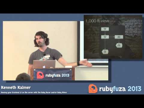 Reusing your frontend JS on the server with The Ruby Racer and/or Ruby Rhino - Kenneth Kalmer