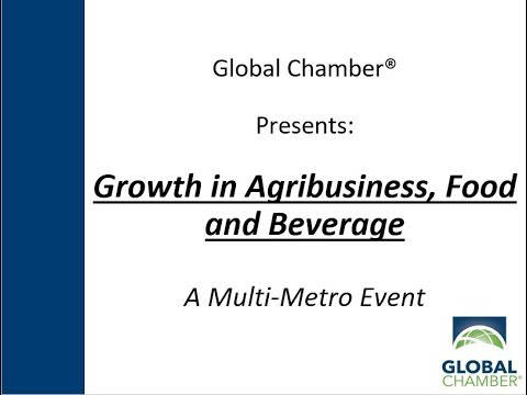 Multi-Metro Event: Growth in Agribusiness, Food and Beverage