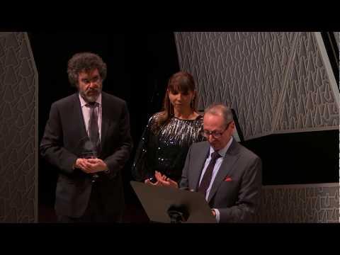 Lara Downes at the 2017 Classical Recording Foundation awards