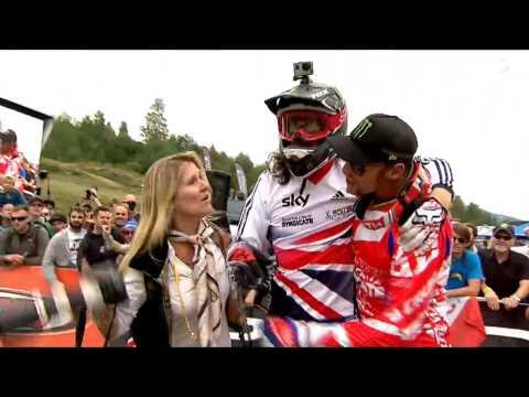 Josh Bryceland Run UCI World Champs 2014 Hafjell *Get well soon RATBOY*