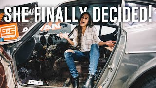 Deciding the FATE of the Datsun 280z Interior Restoration