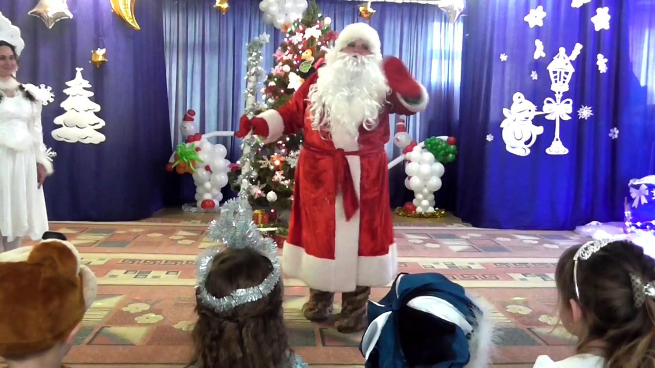 Песенка из новогоднего утренника — новый год- ёлки, шарики, хлопушки ().