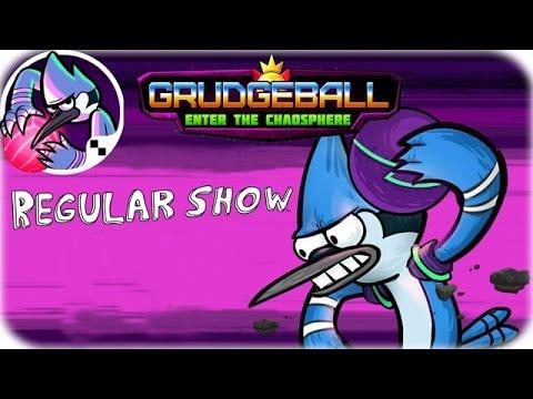 Regular Show Grudgeball: Enter the Chaosphere - Cartoon network Games