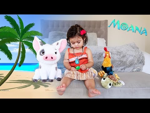 ELLE TRANSFORMS INTO MOANA!!! (THE CUTEST VIDEO EVER)