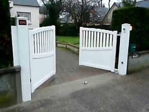 63 r alisation cor motorisation enterr e portail battant pvc fermeture vu ext rieur. Black Bedroom Furniture Sets. Home Design Ideas