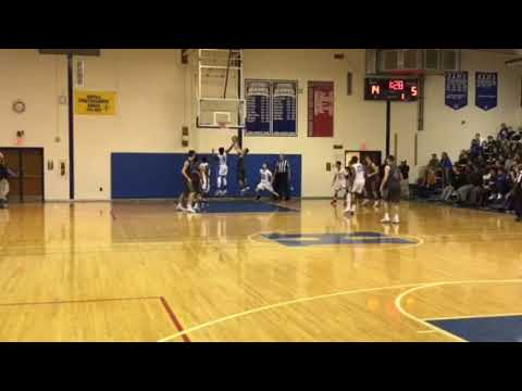 Jamal Anderson with a steal and lay-up for Hightstown