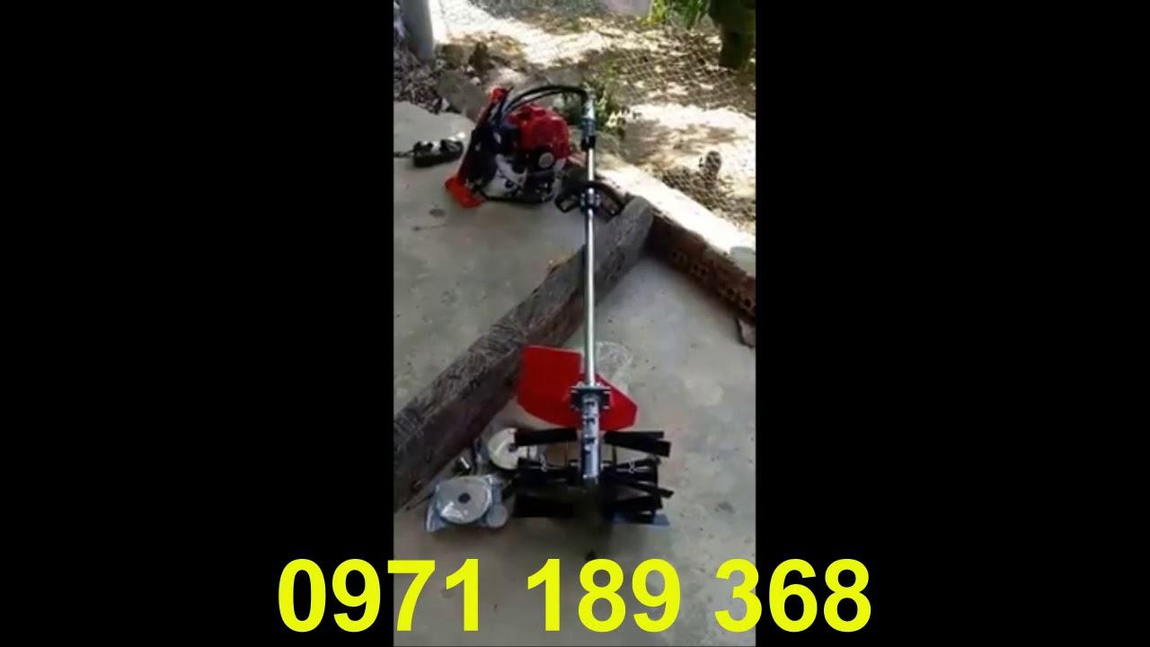 Test thử máy xạc cỏ Vinagreen 1E44F