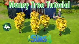 How to get rich with the Money Tree - Sims 4 - Money Tree Tutorial