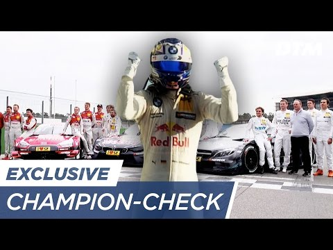 Who becomes DTM Champion 2017? The ultimate Check!