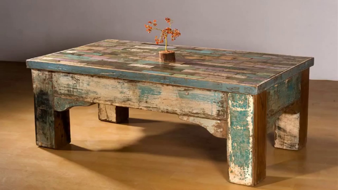 Affordable Reclaimed Wood Furniture