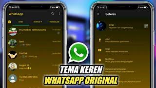 Trik Whatsapp 2020! Cara Mengubah Tampilan Whatsapp Original Jadi Keren