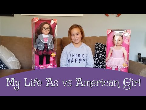 Review of My Life As doll from Wal Mart: Compare to American Girl Doll