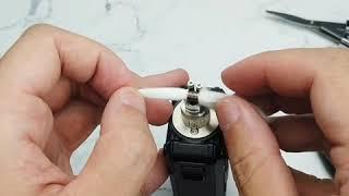 Manto aio RBA coil build tutorial