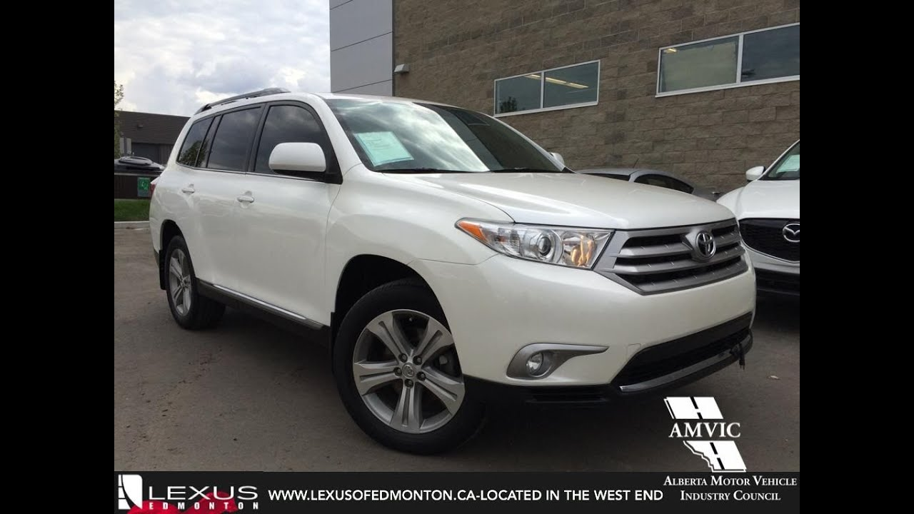 Used 2013 White Toyota Highlander 4WD Walkaround Review ...