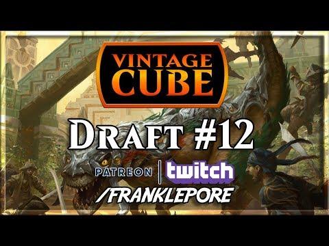 (Magic Online) Vintage Cube Stipulation Draft #12 - 12/27/18