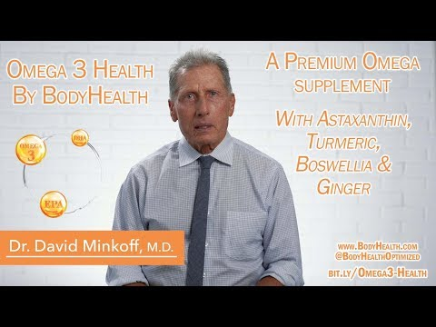 Omega 3 Fish Oil & Omega 3 - 6 Ratios & Blood Pressure | BodyHealth Omega 3 Health With Astaxanthin