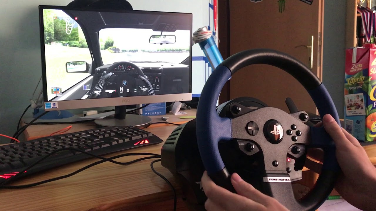 Thrustmaster T150 RS Force Feedback / muty - YouTube