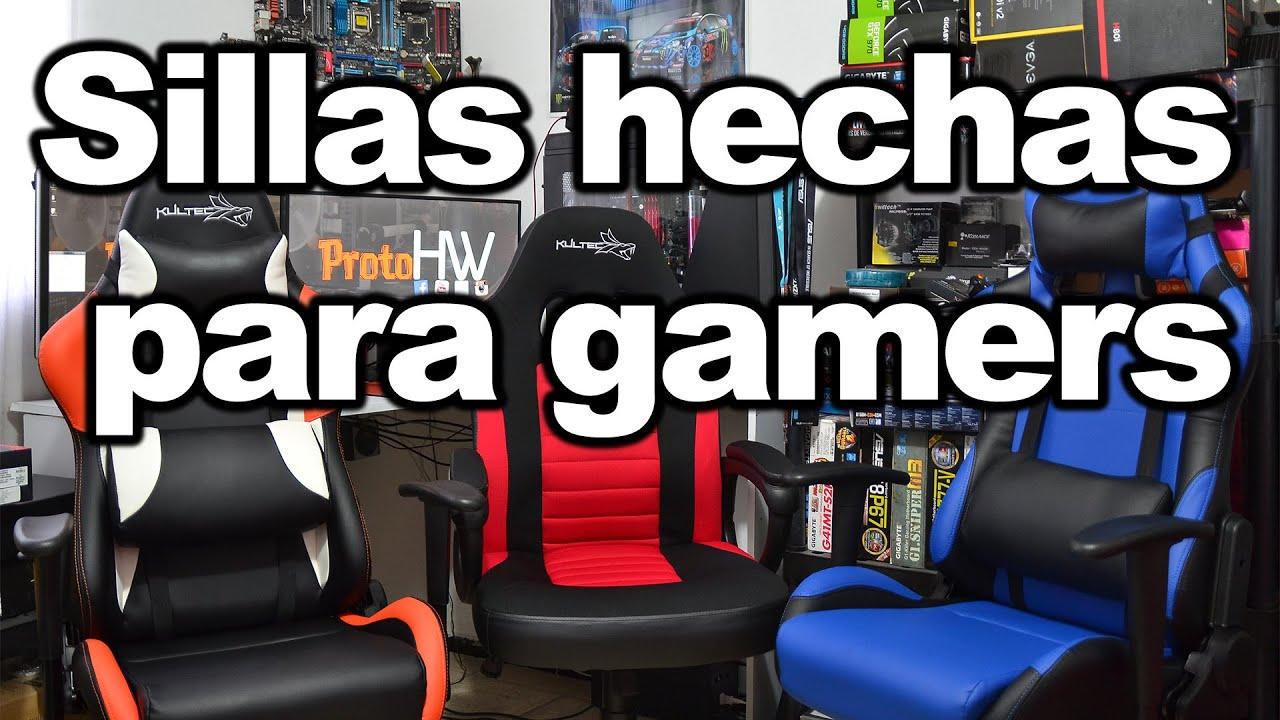 Las sillas que te dejan estar 24 7 en t computadora for Sillas de ordenador gamer