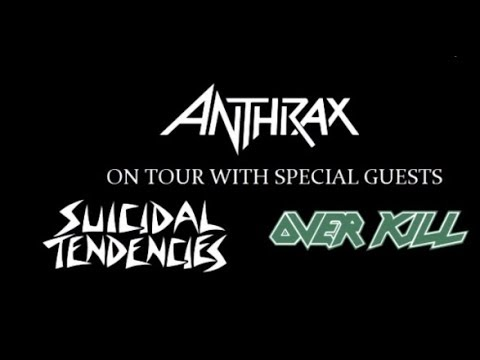 Anthrax, Suicidal Tendencies and Overkill tour 2018 rumored..!